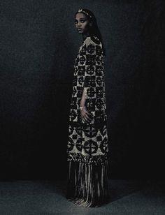 """A Unique Style"", Leila Nda by Paolo Roversi for Vogue Italia, September 2015 // pinterest: @talarijane"