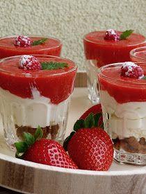 Kouzlo mého domova: Nedělní jahodovo-malinový dezert