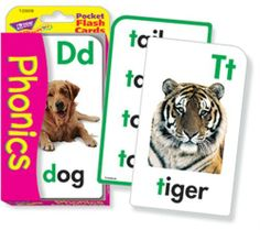 POCKET FLASH CARDS PHONICS 56-PK by TREND ENTERPRISES INC. by Trend. $3.72. POCKET FLASH CARDS PHONICS 56-PK by TREND ENTERPRISES INC.. Save 46%!