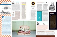 Texas Monthly // Caleb Bennett Great busy page with many elements existing at once on it. Editorial Layout, Editorial Design, Magazine Layout Design, Magazine Layouts, Texas Monthly, Newspaper Design, Inspirations Magazine, Brochure Layout, Magazine Editorial