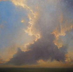 Adriano Farinella Cloud Painting Sky Lovesong to Lake Michigan Nature Paintings, Paintings I Love, Landscape Paintings, Sky Painting, Art Paysage, Cloud Art, Sky And Clouds, Sky Art, Lake Michigan