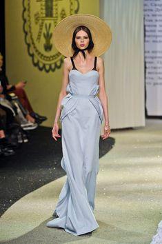 Ulyana Sergeenko at Couture Spring 2013