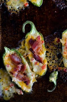 Pimento Cheese Stuffed Jalapeno Poppers