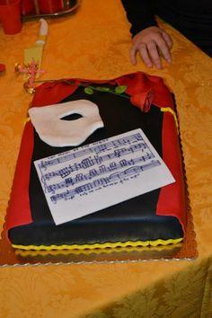 from phantom of the opera. Birthday Stuff, Birthday Cakes, Birthday Ideas, Phantom Of The Opera, Beautiful Cakes, Cake Ideas, 18th, Birthdays, Baking