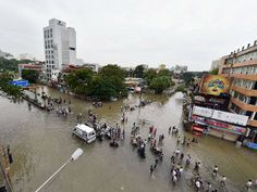 Lessons for Mumbai from the Chennai floods. The major cause of the floods in Mumbai in 2005 and in Chennai in 2015 has been the reclamation of reservoir areas and rapid, unplanned, urbanisation. Banking Services, Apartment Communities, In Mumbai, In 2015, Community Events, Chennai, Restoration, Street View, Telugu