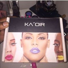 Ka'oir lipstick 4 never used ! Names in images paid 60$ Makeup Lipstick