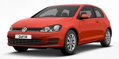#Volkswagen #Golf #New 7th Generation Tornado Red