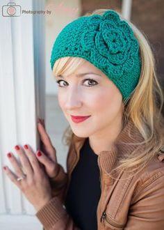 #crochet head wrap ear warmer pattern