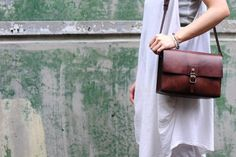Artemis Leatherware Hand Stitched Leather  Camera Bag/ Shoulder Bag