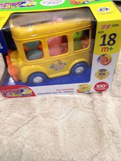Fun Unlimited Interactive Cute School Bus toys for children Unisex    eBay