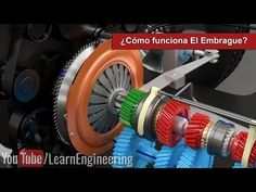 How does a Clutch work ? Engineering Works, Mechanical Engineering, Make Tutorial, Motor Engine, Mechanical Design, Futuristic Design, Electric Car, Transportation Design, Hobbies And Crafts