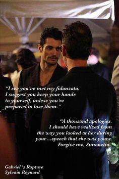 """Gabriel, this is Professor Pacciani. He's also a Dante specialist."" #GabrielsRapture @sylvainreynard @GIFansFilipino"