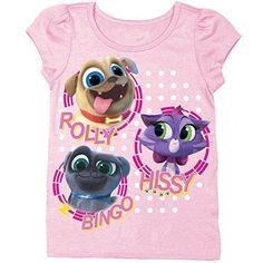 Disney Toddler Girls\' Puppy Dog Pals Puff Short Sleeve T-Shirt. Starting at $1