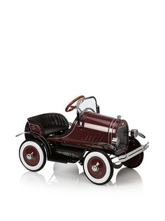 Dexton Deluxe Burgundy Roadster Pedal Car at MYHABIT - so want this for my nephew!
