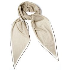 Pre-owned Hermes Scarf/Wrap ($321) ❤ liked on Polyvore featuring accessories, scarves, clothing accessories, apparel & accessories, scarves & shawls, tan, hermes scarves, cotton shawl, wrap shawl y hermes shawl