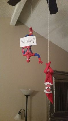 Spiderman Elf - Elf on the shelf Merry Christmas, Christmas Elf, All Things Christmas, Christmas Humor, Elf On The Self, The Elf, Christmas Activities, Christmas Traditions, Holiday Crafts