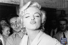 Marilyn Monroe photographiée à la Galerie de l'Instant