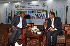Somalia hosted regional African heads of state on Tuesday for a summit that was the first of its kind in the Somali capital since the Horn of Africa nation plunged into conflict in 1991.    Streets were