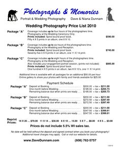 wedding photographer prices widescreen 6