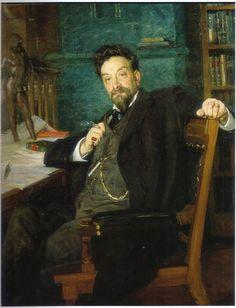 Portratt av en konstnar 2