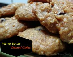 Peanut Butter Oatmeal Cakies {A Healthy Snack Recipe for the Kids!}