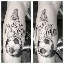 Resultado de imagen de tatuajes de balones de futbol 3d