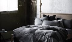 I need these sheets. #bedroom #bedsheets #grey
