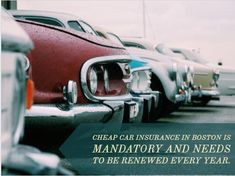 Cheap Car Insurance Boston recommends you can start with taking a quote from at least 5 cheap car insurance companies in Boston before you decide to choose your provider.