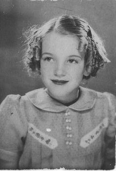 Childhood -- Norma Jean Baker-Mortensen aka  FUTURE marilyn monroe