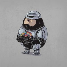 """Chunky RoboCop"" 