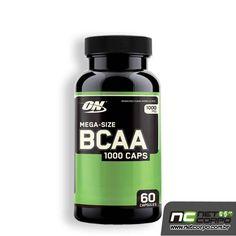 BCAA 1000 é uma fórmula balanceada de grande potência da cadeia ramificada de aminoácidos - os blocos responsáveis pela construção da massa e tamanho MUSCULAR. BCAA 1000 contém os aminoácidos essenciais: L-Leucina, L-Isoleucina, e L-Valina, os três aminoácidos conhecidos como cadeia reamificada de aminoácidos (Branched Chain Amino Acids).