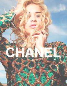 Chanel. Rita Ora.