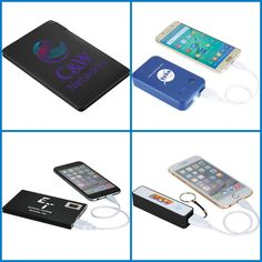 Promotional Products - Customized Power Bank from HotRef.com #powerbank #mobiletech