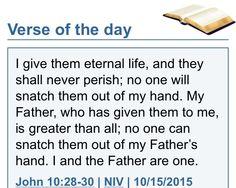 John 10:28-30