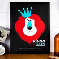 Kings of Leon Print, $25, now featured on Fab.