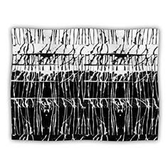 40 by 30-Inch 40 X 30 Kess InHouse Suzanne Carter The Road Contemporary Nature Fleece Throw Blanket