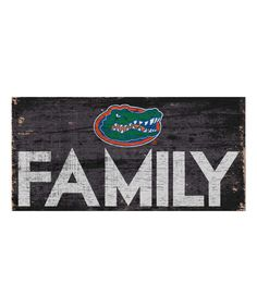 Fan Creations Florida Gators Family Sign   zulily