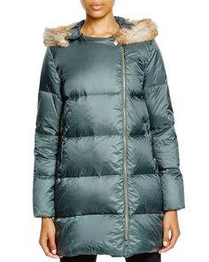 Hoss Intropia Fur Hooded Down Coat
