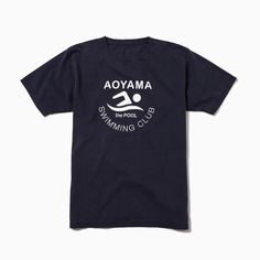 the POOL aoyama Swimming Club Logo T-Shirt