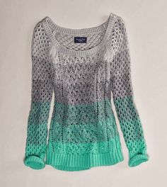 Adorable Full Sleeves Wire Knit Sweater