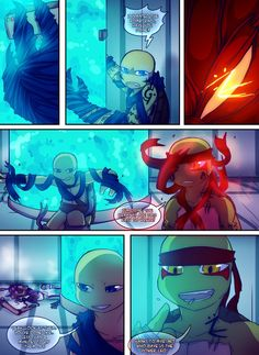 Teenage Mutant Mages Turtles Page 10 by GolzyBlazey on DeviantArt