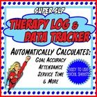 This therapy log, designed by an SLP and intended for school-based therapists, saves you time by automatically calculating your student's progress ...