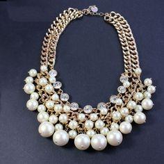 Irregular Chokers Artificial Crystal Princess Necklace
