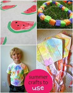 summer crafts for kids to use