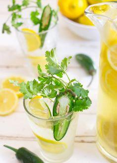 Lemonade with Jalapeno, Cilantro 3