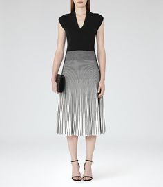 Shop our stylish contemporary womenswear ran Midi Dresses Online, Reiss, Trendy Outfits, High Fashion, Casual Dresses, Women Wear, Clothes For Women, Knitting, Stylish