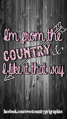 I'm from the country and I like it that way! Country Girl Life, Country Girl Problems, Cute N Country, Country Girls, Southern Girls, Southern Prep, Southern Charm, Southern Belle, Country Living