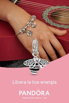 Bracelet Pandora Charms, Jewerly, Piercings, Birthday Gifts, Manicure, Bee, Bracelets, Silver, Beautiful
