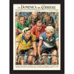 Cycling Greats Print