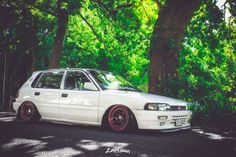 Rad Racer. Toyota Conquest Hatchback Ae92 Rims For Cars, Toyota Cars, Toyota Corolla, Custom Cars, Jdm, Vehicles, Tractor, Engine, Legends